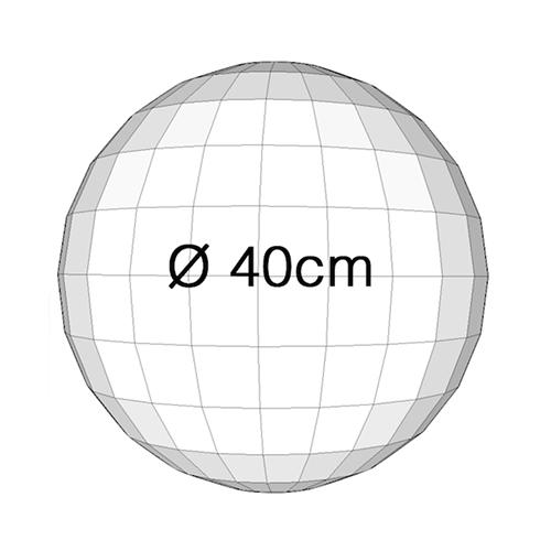 Spiegelbol 40cm mj event for Spiegel 40 2017