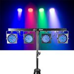 Showtec 4 bar compacte LED lichtset