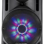 Fenton FT10LED karaoke speaker met accu en LED verlichting